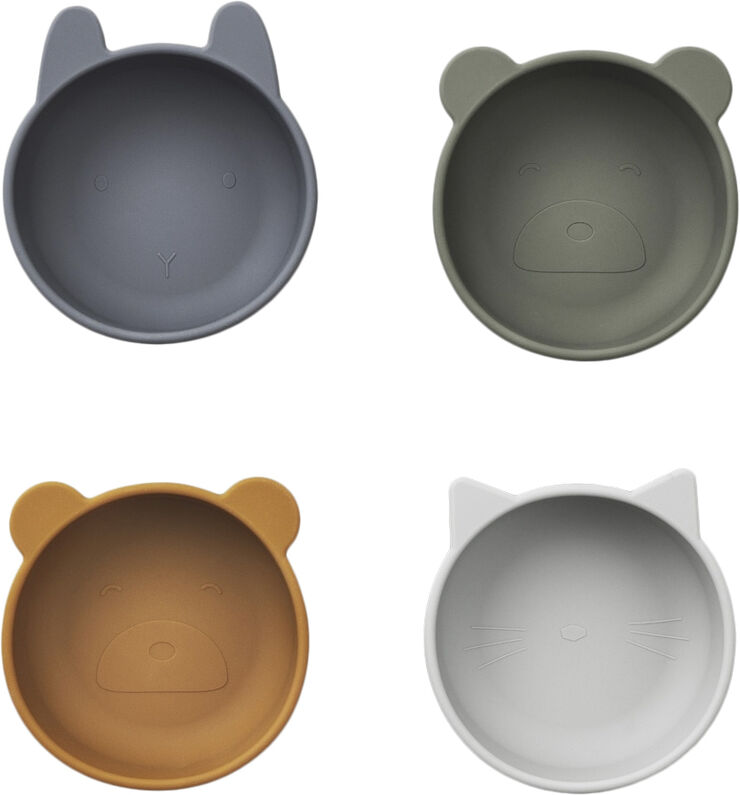 Iggy silicone bowls - 4 pack