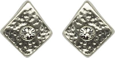 Små rhombus ørestikker. Mål: 0.6 x 0.5 cm