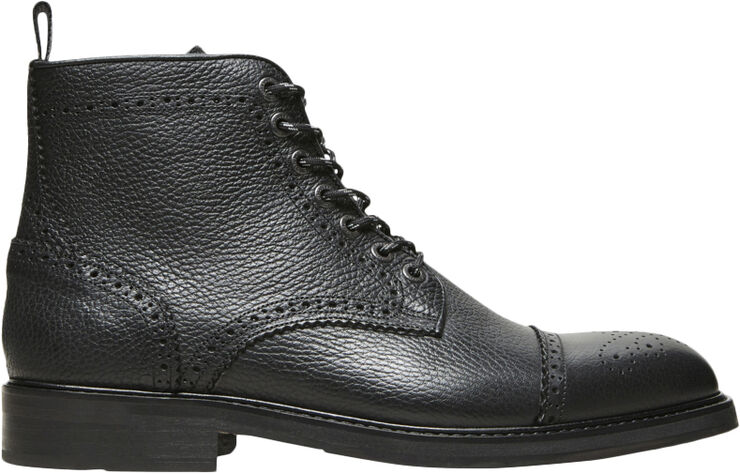 SLHNEIL LEATHER BROGUE BOOT B