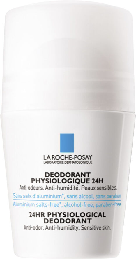 Fysiologisk 24h Deodorant Roll-On 50 ml.