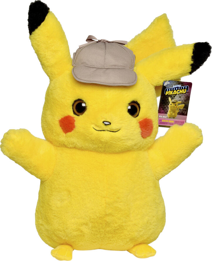 Pokemon Plush Pikachu - 40 cm Real Scale - Movie