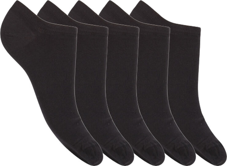 DECOY sneaker sock cotton 5-pk