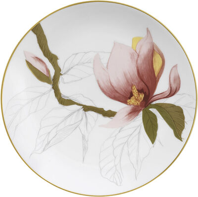 Flora tallerken magnolia 19cm