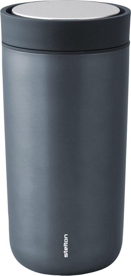 To Go Click d. steel, 0,4 l. - blue/metallic
