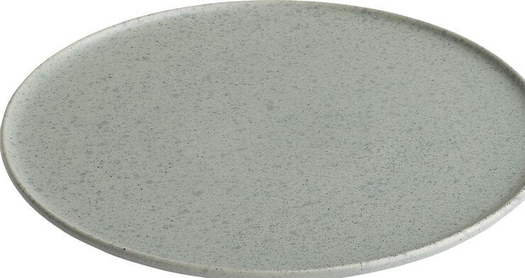 Ombria tallerken 22 cm. granitgrøn