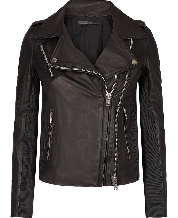 Viola læder jakke