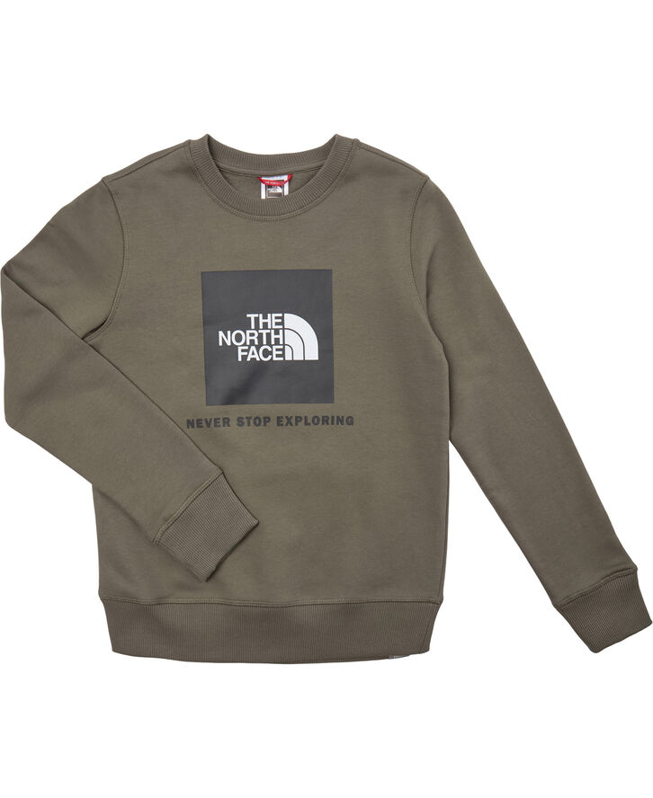 Y BOX CREW NEW TAUPE GREEN/TNF BLAC