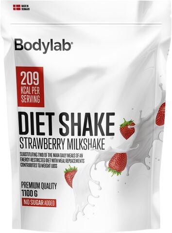 Bodylab Diet Shake 1100 g - Strawberry Milkshake