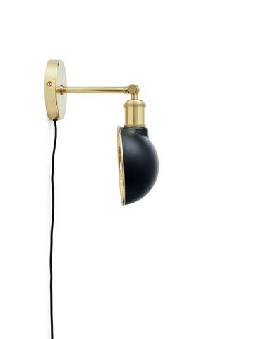 Walker Ceiling/Wall Lamp, Black