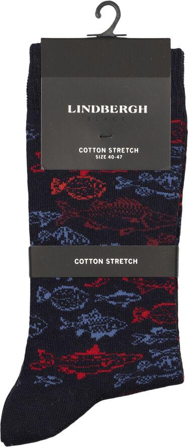 Cotton pattern sock