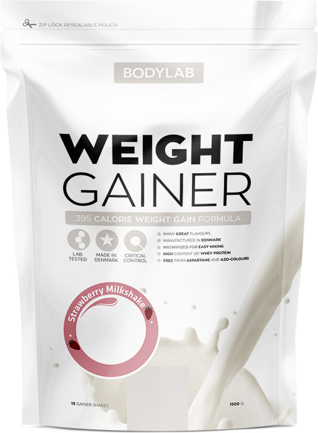Weight Gainer Strawberry Milkshake