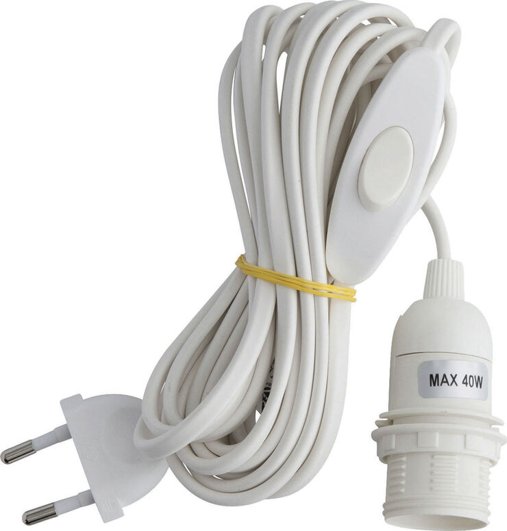 Electric cord white