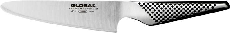 GS-2 Kokkekniv rund stål 13 cm