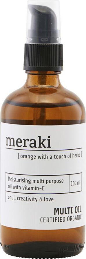 Multi olie Orange & herbs
