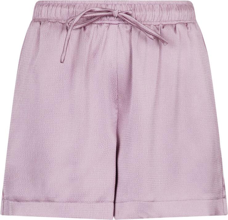 Abbigail Crepe Satin Shorts