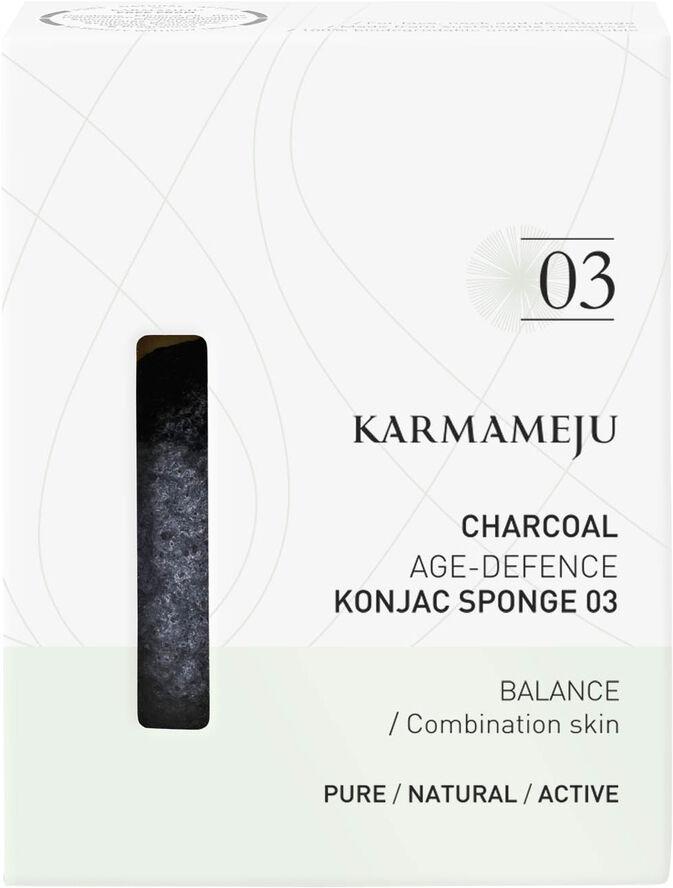 CHARCOAL Konjac Sponge 03